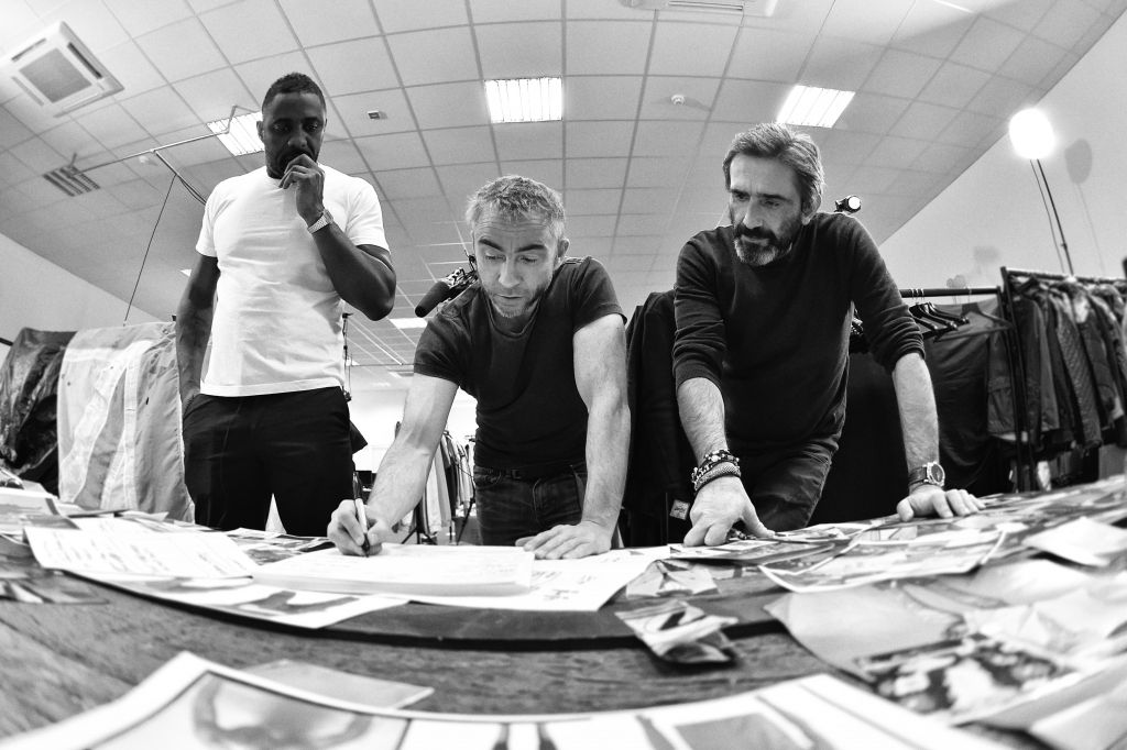 The design process - Initial plans with Superdry Co-founders James Holder (Brand and Design Director) and Julian Dunkerton (Product and Design Director