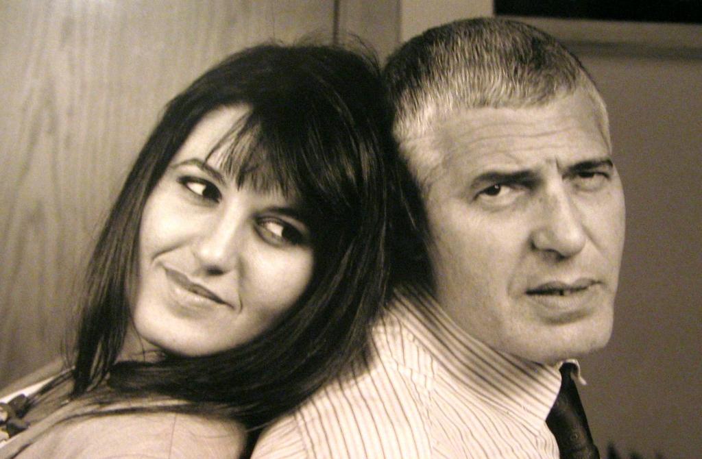 Caterina e suo padre Guido Crepax