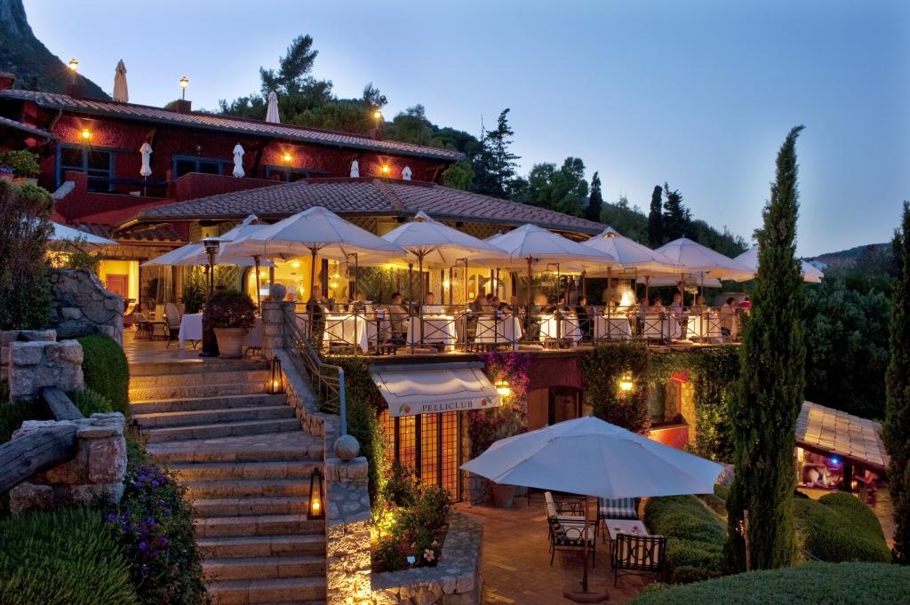 Il Pellicano restaurant terrace