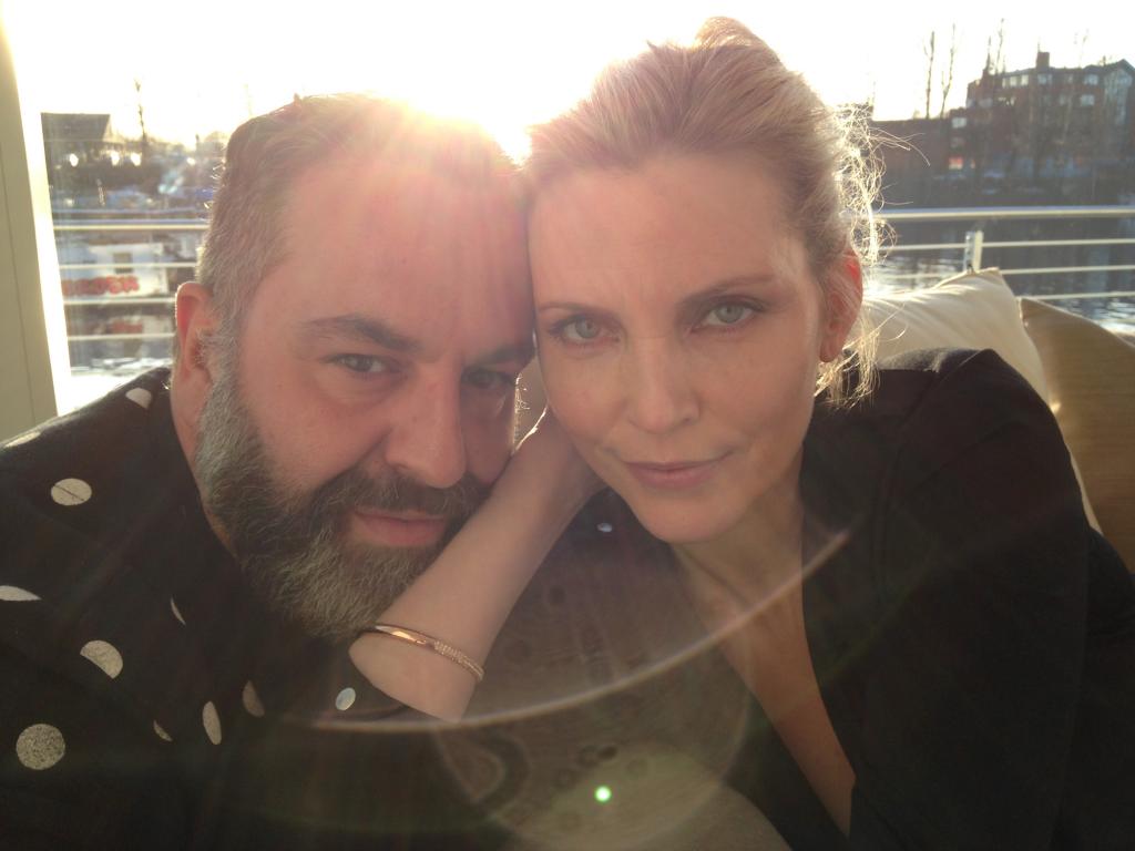 La Top Nadja Auermann e Simone Guidarelli