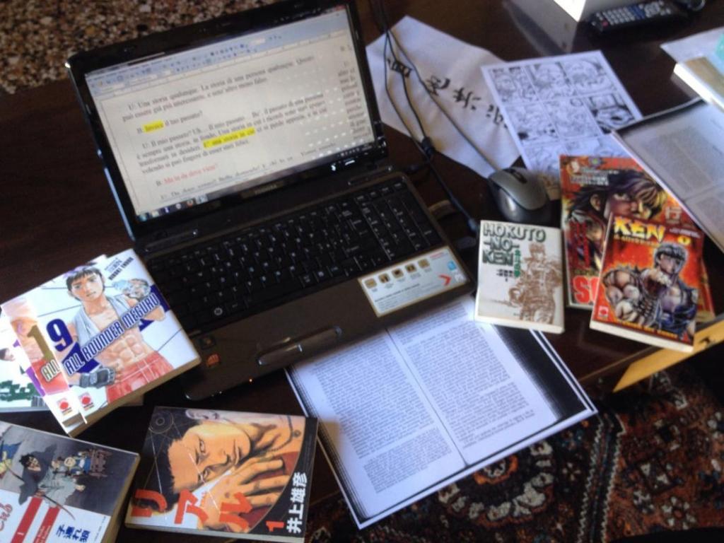 Mattia Dal Corno, Lavorare con i fumetti