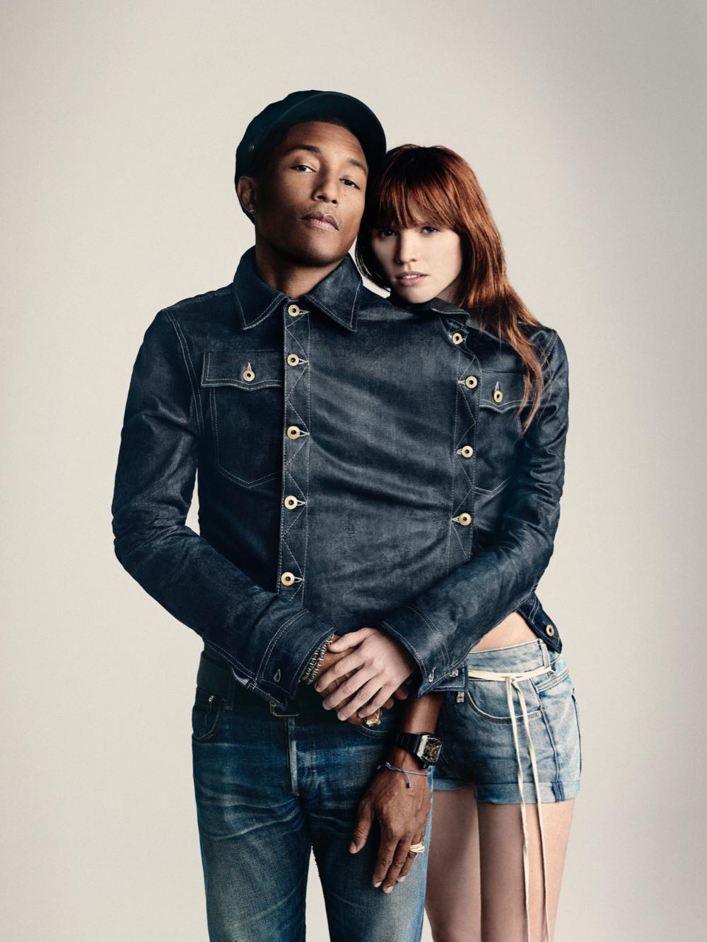 Pharrell Williams, co-owner G-Star RAW