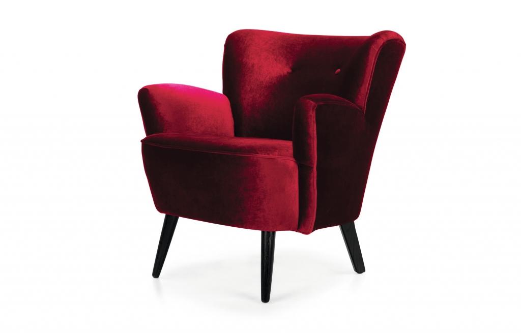 foto 5_MADE.COM_Lotus Armchair Crimson Red - minimale HR