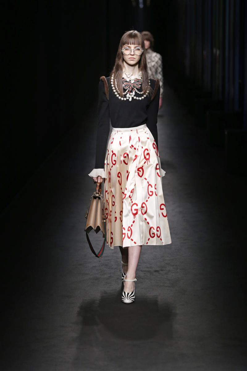 Milano Fashion Week Gucci Fall Winter 2016 17 Womenswear