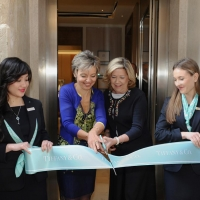 Cerimonia inaugurazione boutique Tiffany a Venezia