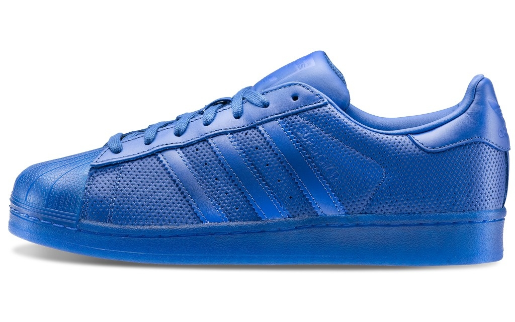 superstar adidas blu
