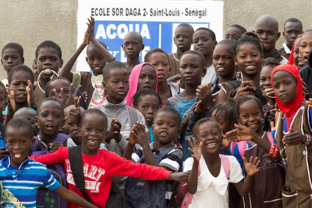 Alain Buu per Acqua for Life Senegal