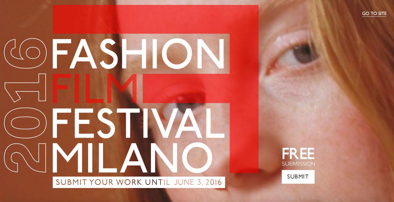 Fashion Film Festival Milano 2016
