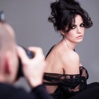 Laura Torrisi, Backstage campagna Framesi 2016
