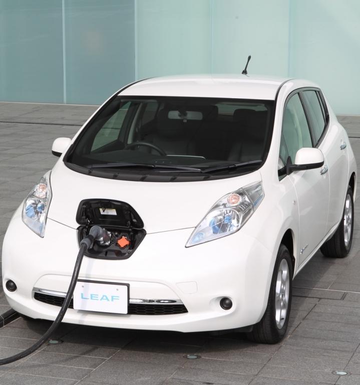 Nissan LEAF, ricarica rapida