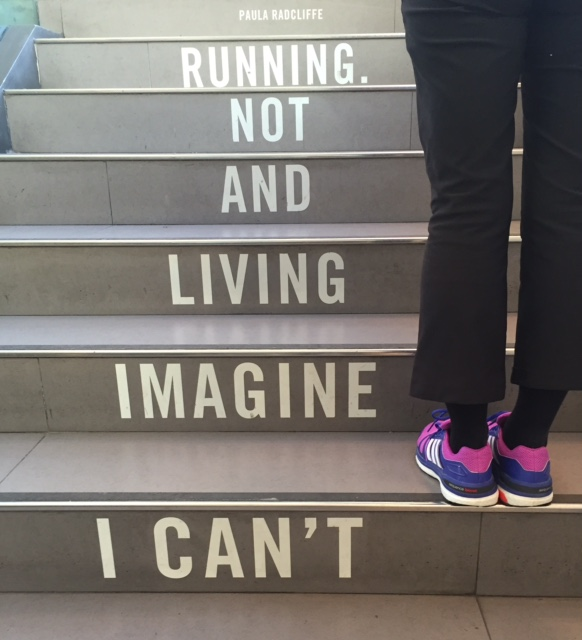 I can't imagine living and not running