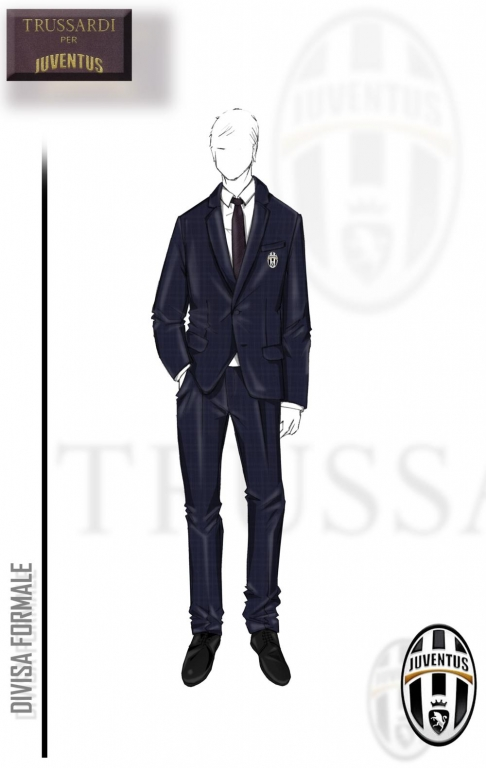 Trussardi e Juventus, abito formale