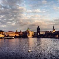 Vista dal Museo di Kafka