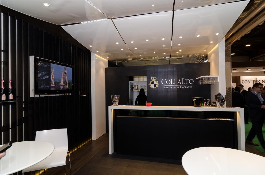 Lo stand Collalto a Vinitaly 2016