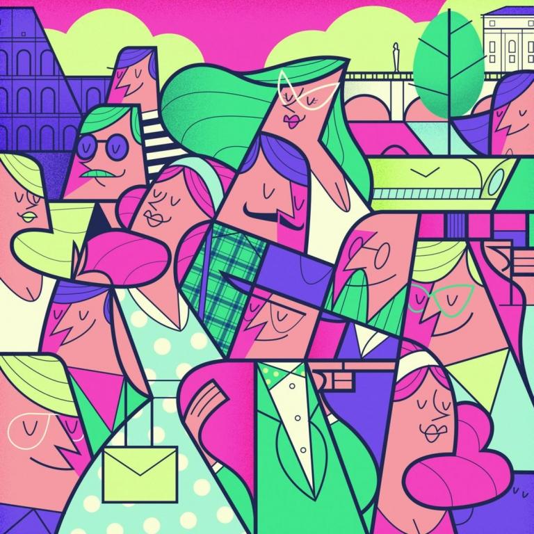 Illustrazione di Ale Giorgini