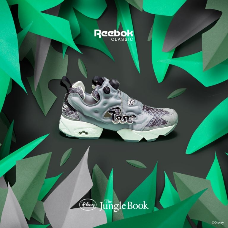 Reebok Classic x Disney Jungle Book Instapump Fury Shere Khan