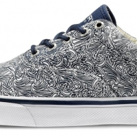 Sperry Striper Japanese Waves - esclusiva AW LAB