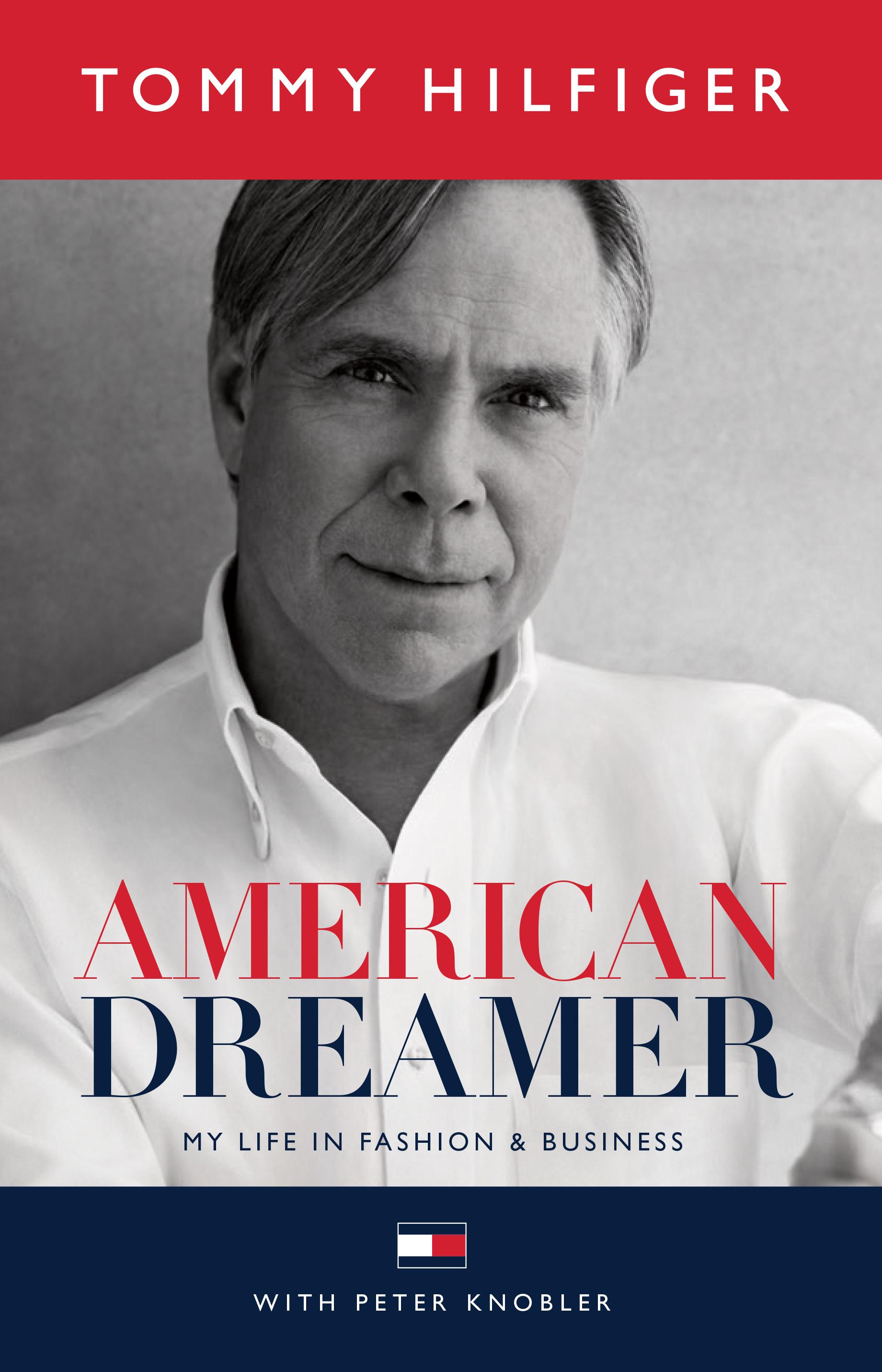 Tommy Hilfiger American Dreamer Memoir Cover