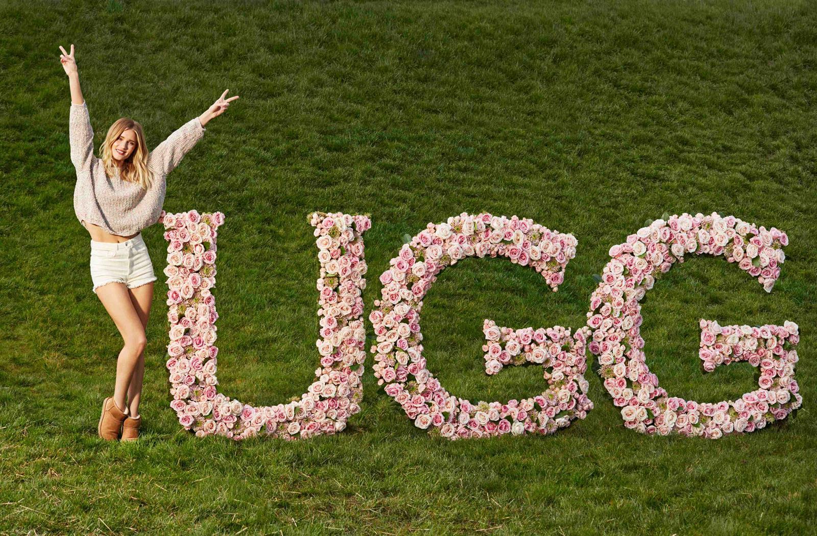 Rosie Huntington Whiteley per UGG