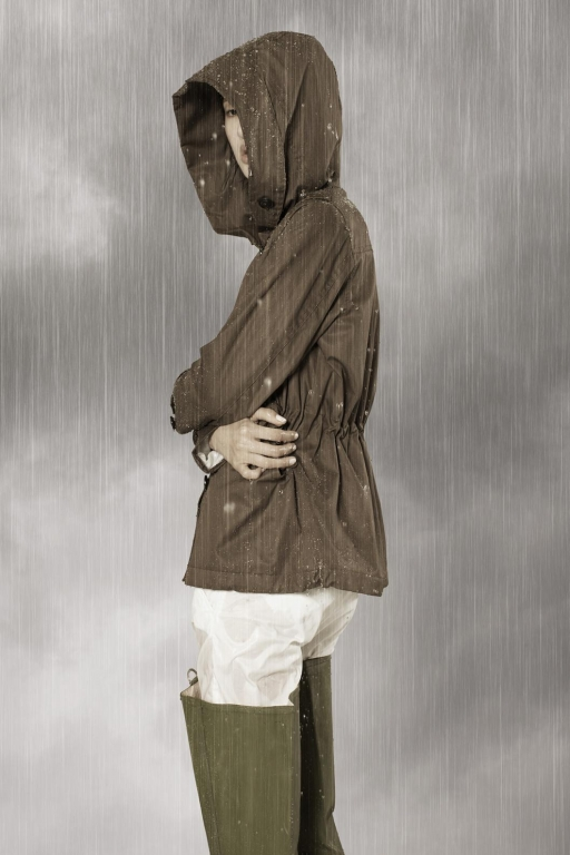 Woolrich Rainwear Project, PRESCOTT SHORT PARKA