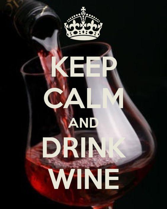 keep calm drinkwine