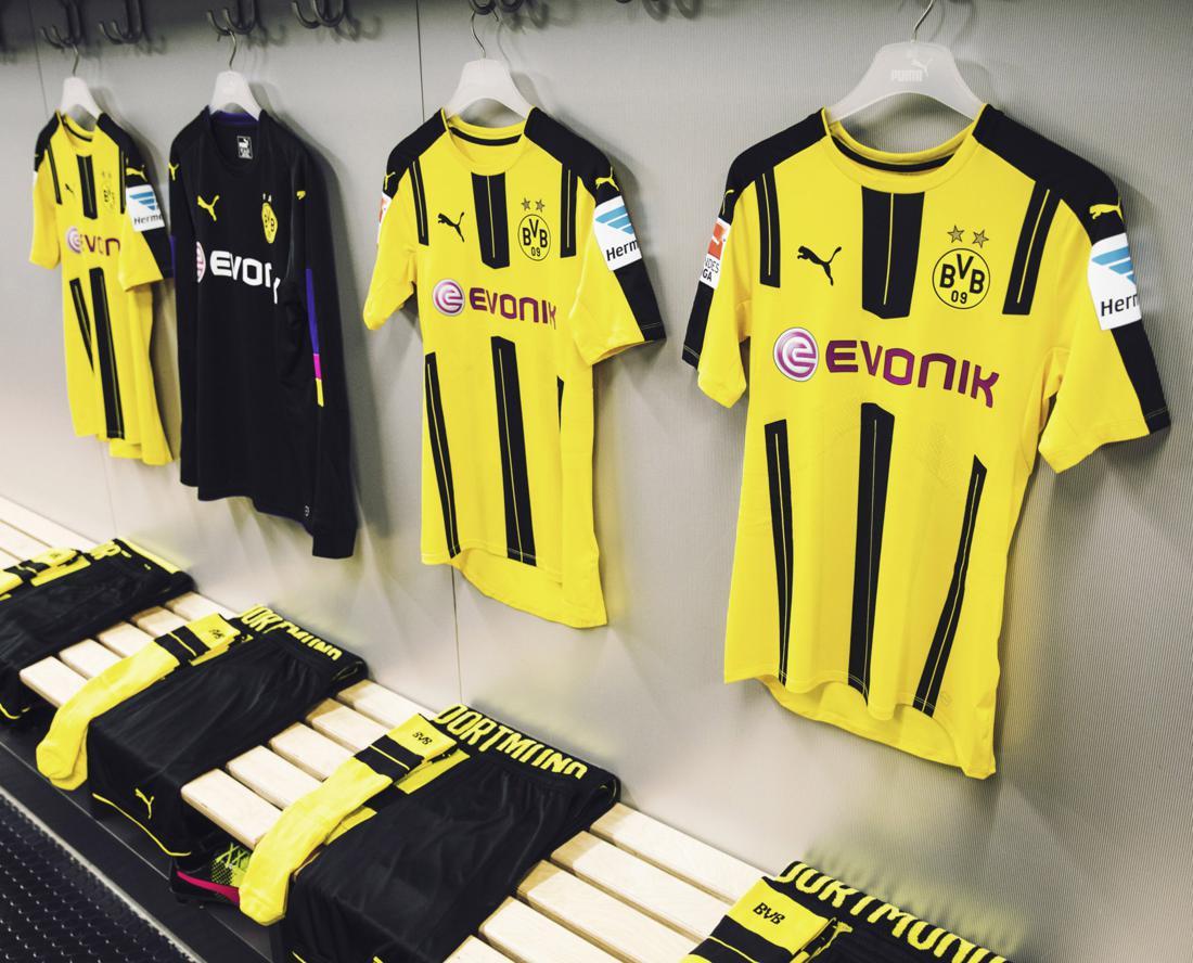 Puma, home kit Borussia Dortmund
