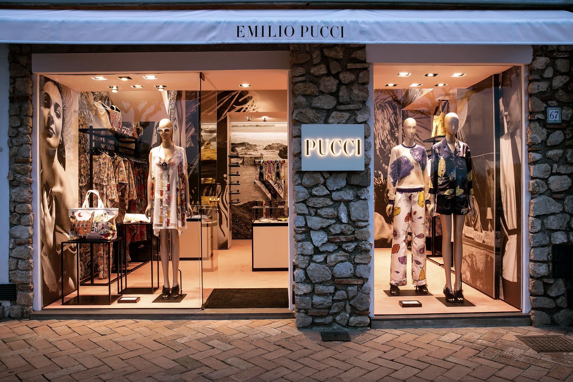 Boutique Emilio Pucci a Capri.