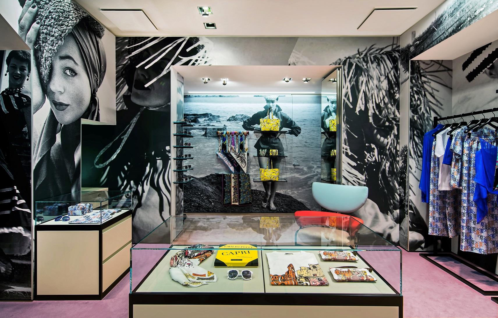 Accessori Bagno Pucci : Emilio pucci nuova boutique a capri fashion times
