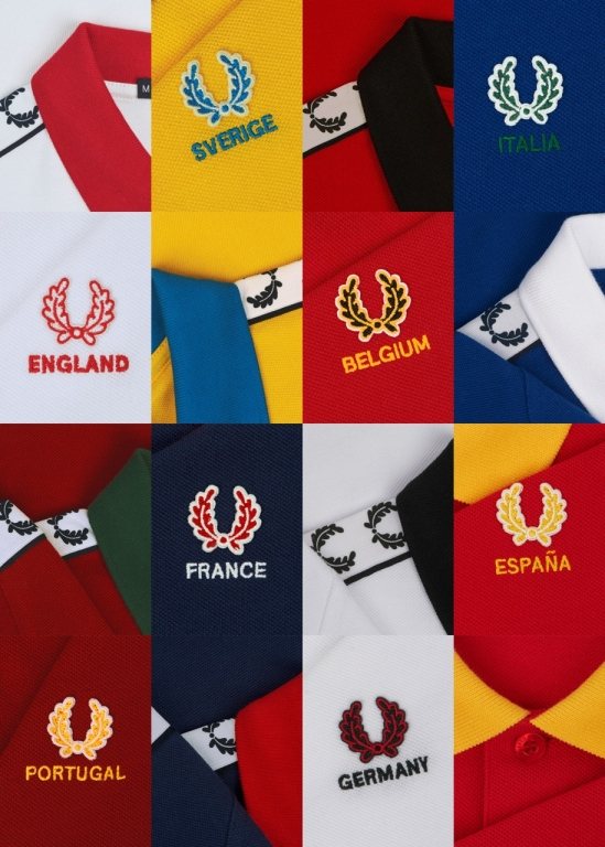 Fred Perry, Country Shirts