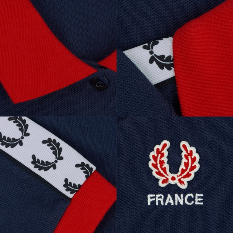 Fred Perry, Country Shirts, France