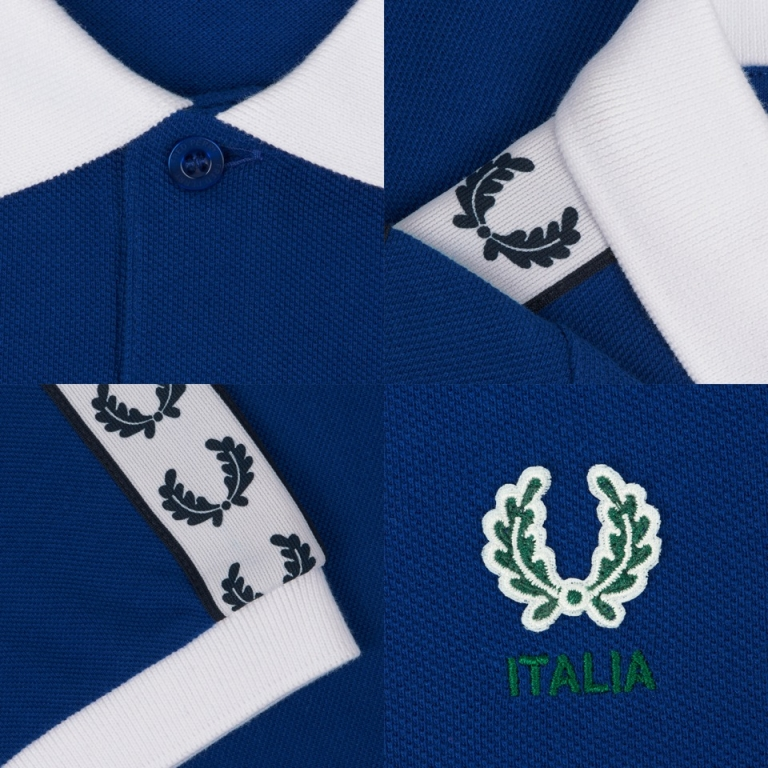 Fred Perry, Country Shirts, Italy