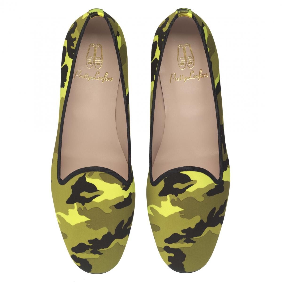 Faye fluo yellow camouflage - pair_PVP 129