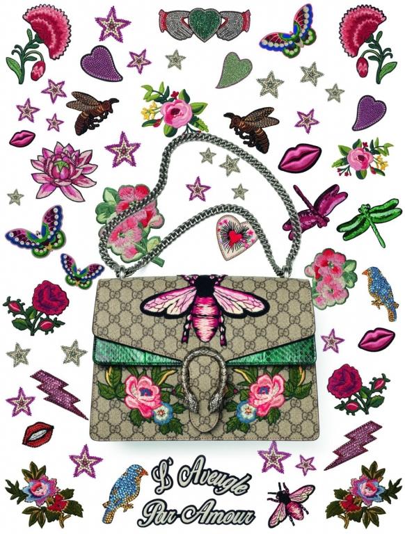 Gucci, Dionysus bag DIY