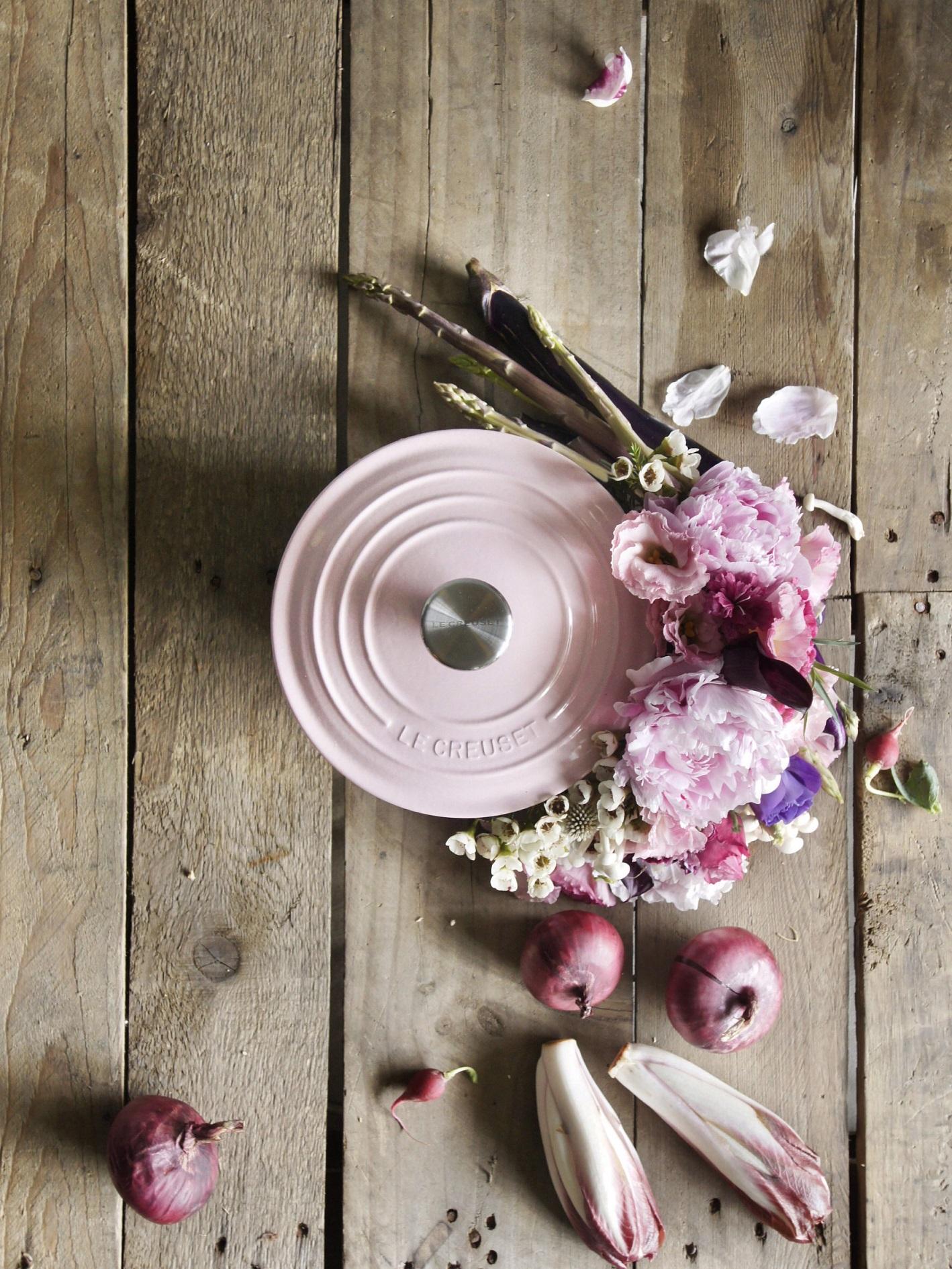 Le Creuset Chiffon Pink casseruola