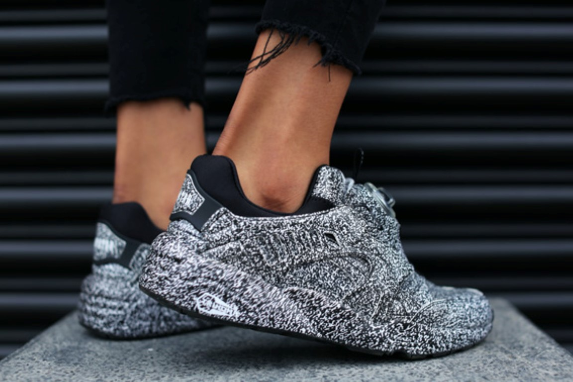Puma sneakers 2016 by Trapstar teaser collection 'White Noise' (1)