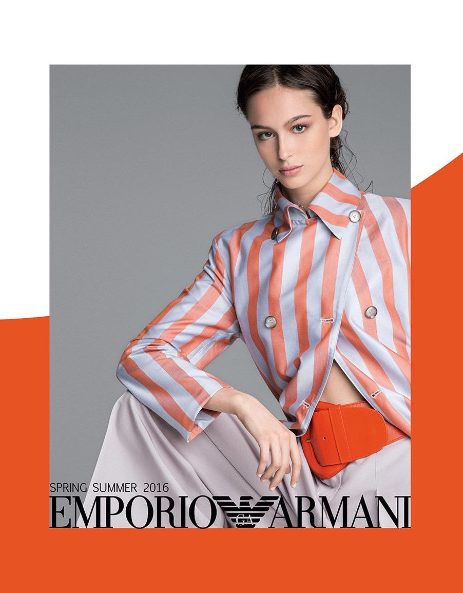 Catalogo Emporio Armani SS 2016