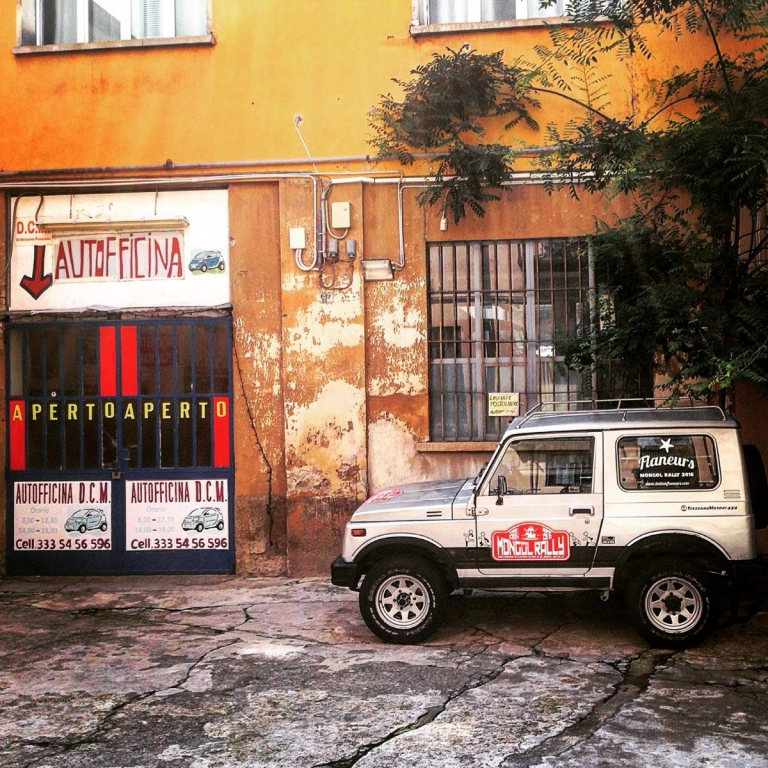 Mongol Rally_Italian Flaneurs Team 2016