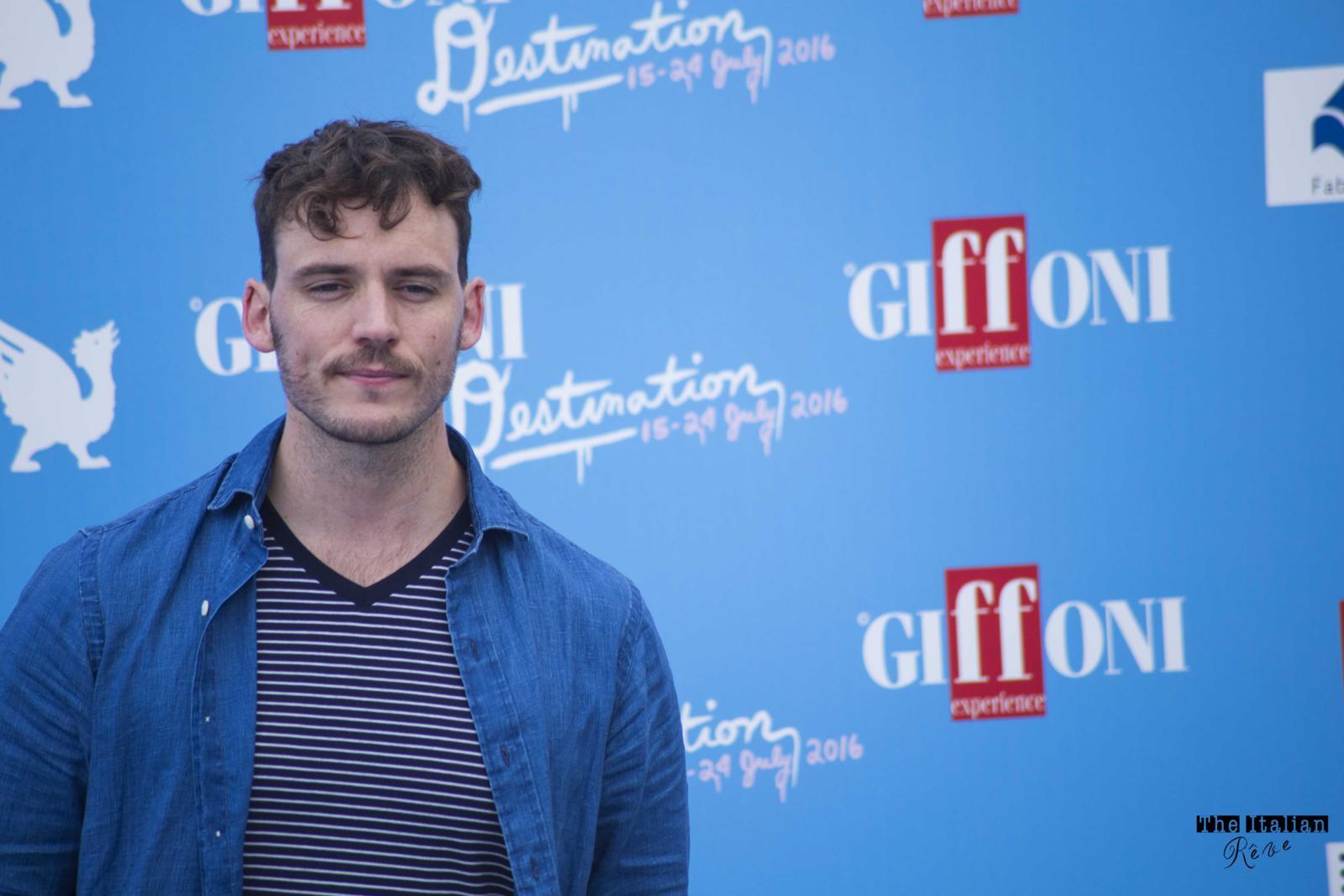 Sam Claflin Giffoni Film Festival 2016