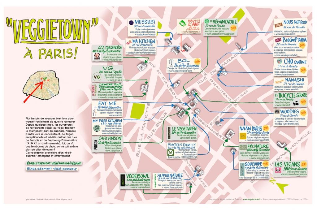 La mappa di VeggieTown
