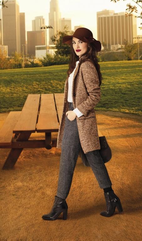 Deborah Milano Fall in Tweed