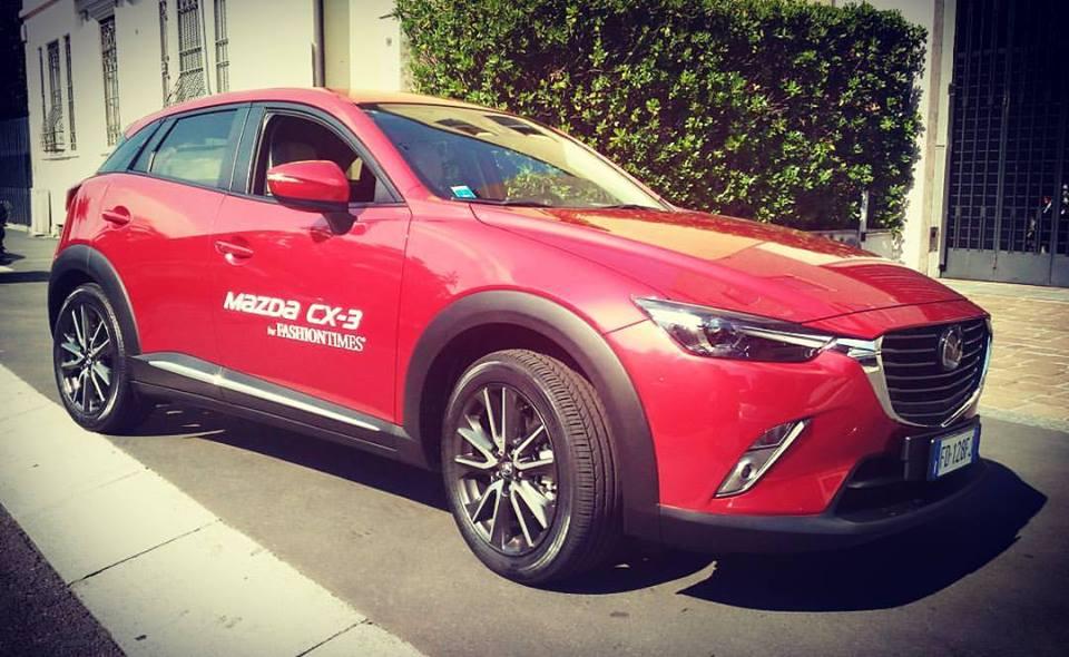 Mazda CX-3 for Fashion Times. Partenza da Milano
