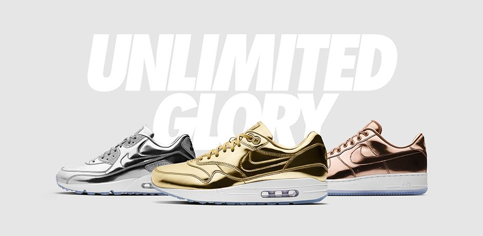Rio 2016 sneakers NikeID Unlimited Glory Collection