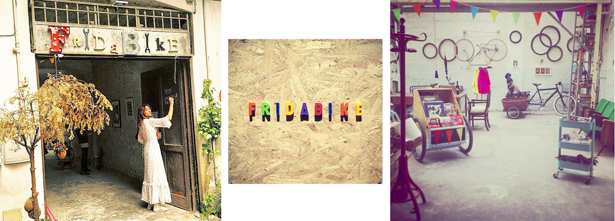 Antonella Pesenti nel suo Fridabike. La foto di copertina è stata scattata durante la Tweed Ride di Milano - ph Maria Gabriella Berti