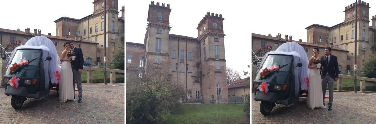 Gli sposi di Cassinetta di Lugagnano e la misteriosa Villa Archinto