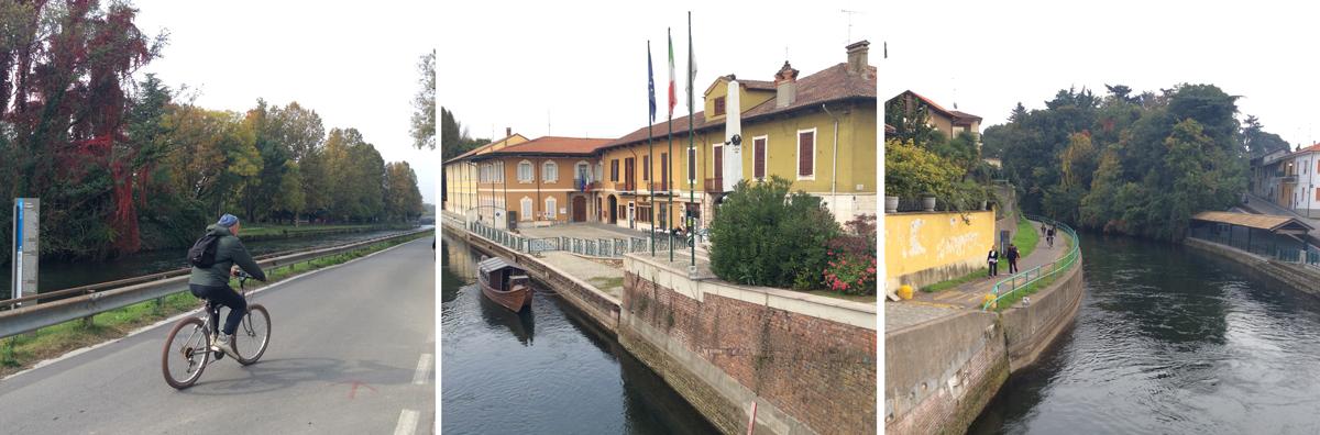 """Boffalora sopra Ticino con il suo famoso """"Barchett"""", la corriera che portava a Milano i """"pendolari"""" del tempo che fu"""