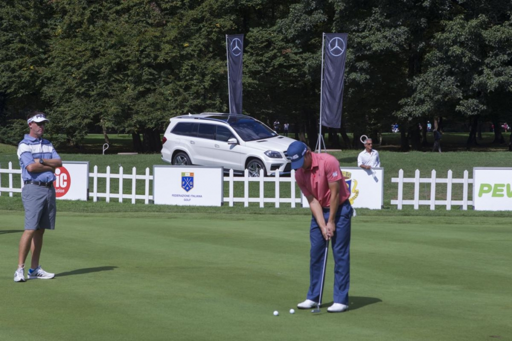 Mercedes-Benz sponsor e official car degli Open d'Italia di golf