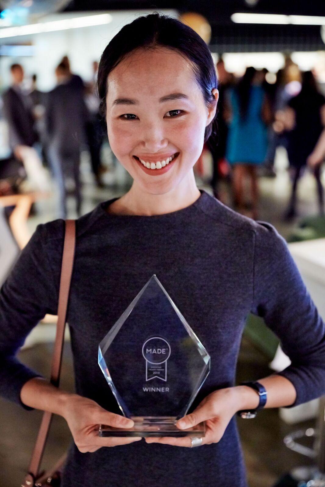 Moon Kim di studio KIMXGENSAPA - studio vincitore ETA2016 con il progetto CAIRN
