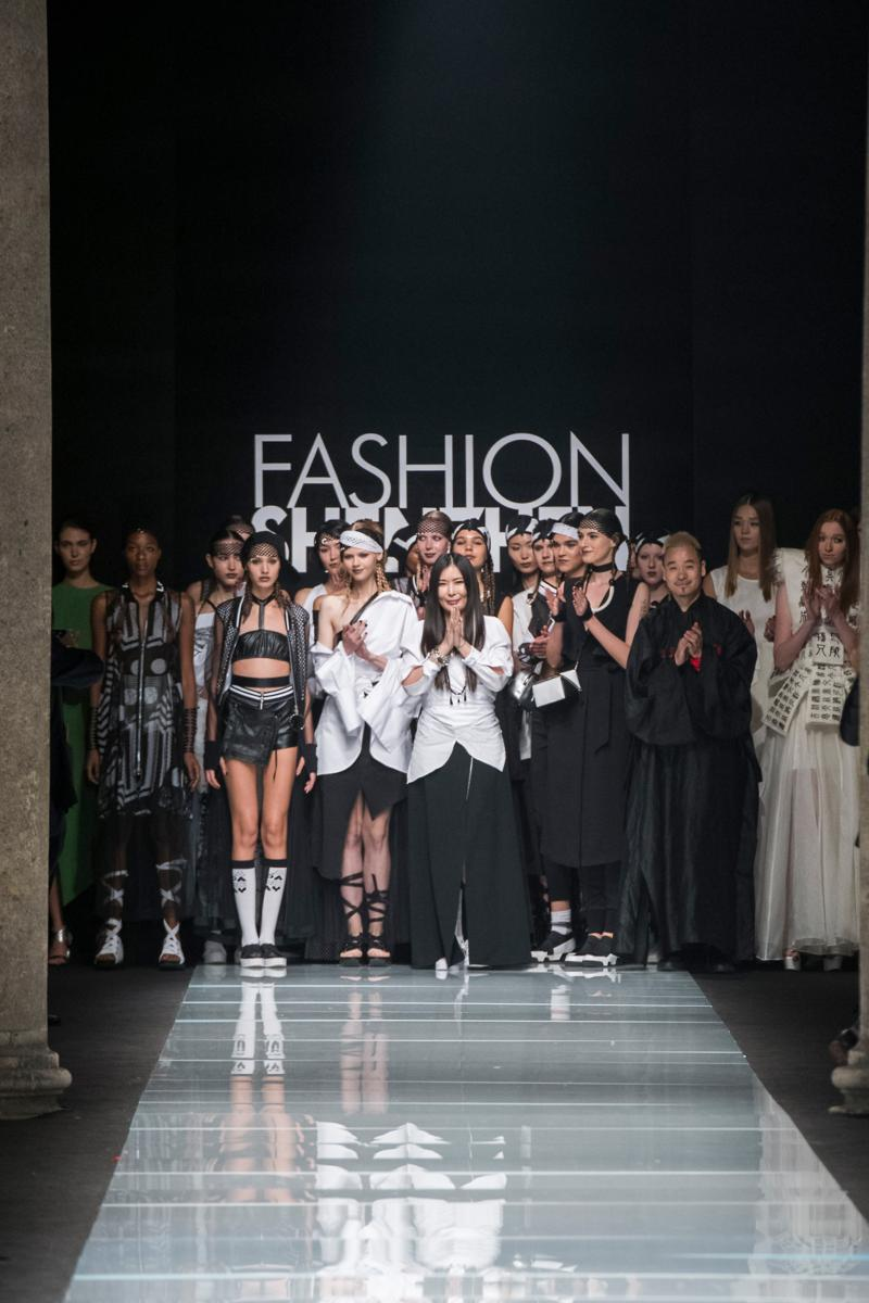 Xie Haiping Spring-Summer 2017 - Fashion Shenzhen a Milano Fashion Week