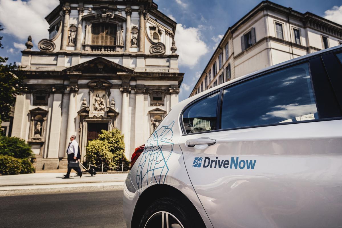 DriveNow Milano, Photo credit: DriveNow