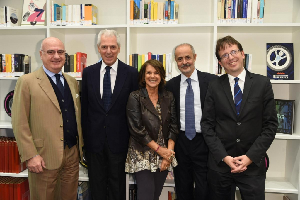 Federico Motta, Marco Tronchetti Provera, Lella Costa, Antonio Calabrò, Filippo del Corno